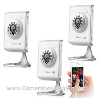 WIFI IP camera's 720P HD bewakingscamera incl. tweerichting audio en gratis app.