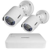 FULL HD camerabewakingssysteem 2 Bullet buiten camera's.