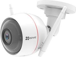 Draadloos Ezviz WIFI Buiten IP camera FULL HD incl. microfoon, speaker, sirene, flitsalarm en MicroSD slot